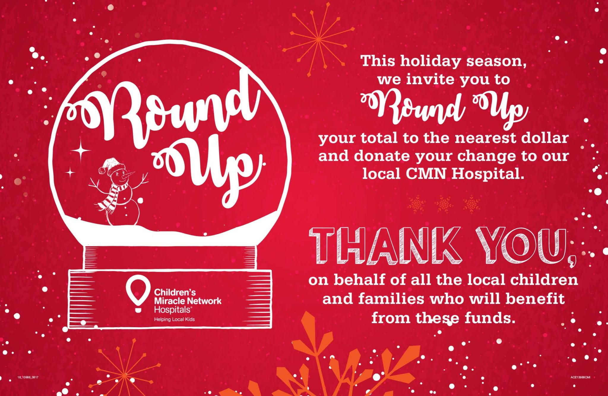 Round up with ace hardware arnold palmer medical center with 17 participating locations throughout central florida our stores are continuously making miracles happen for our young patients and their families kristyandbryce Image collections